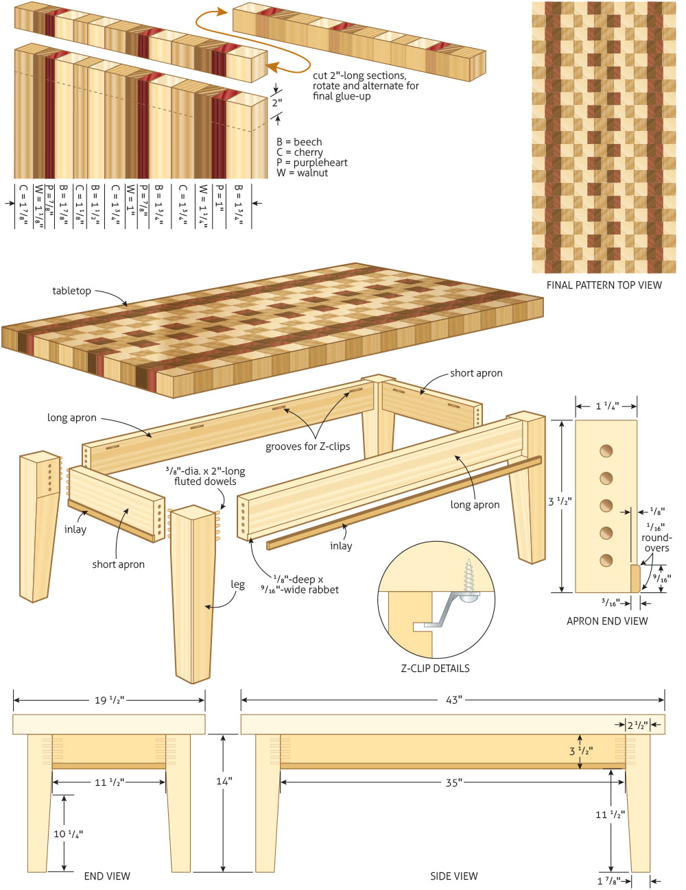 Pdf plans plans coffee table download free small wood Project plans