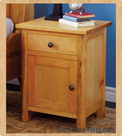 Free Night Stand Plans