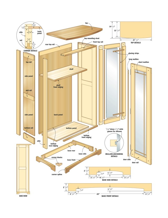 Free woodworking plans and free woodworking patterns, Woodworking ...