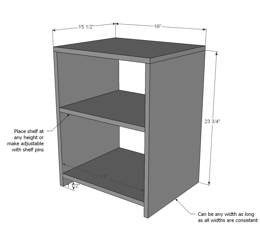 Night Stand Wood Plans