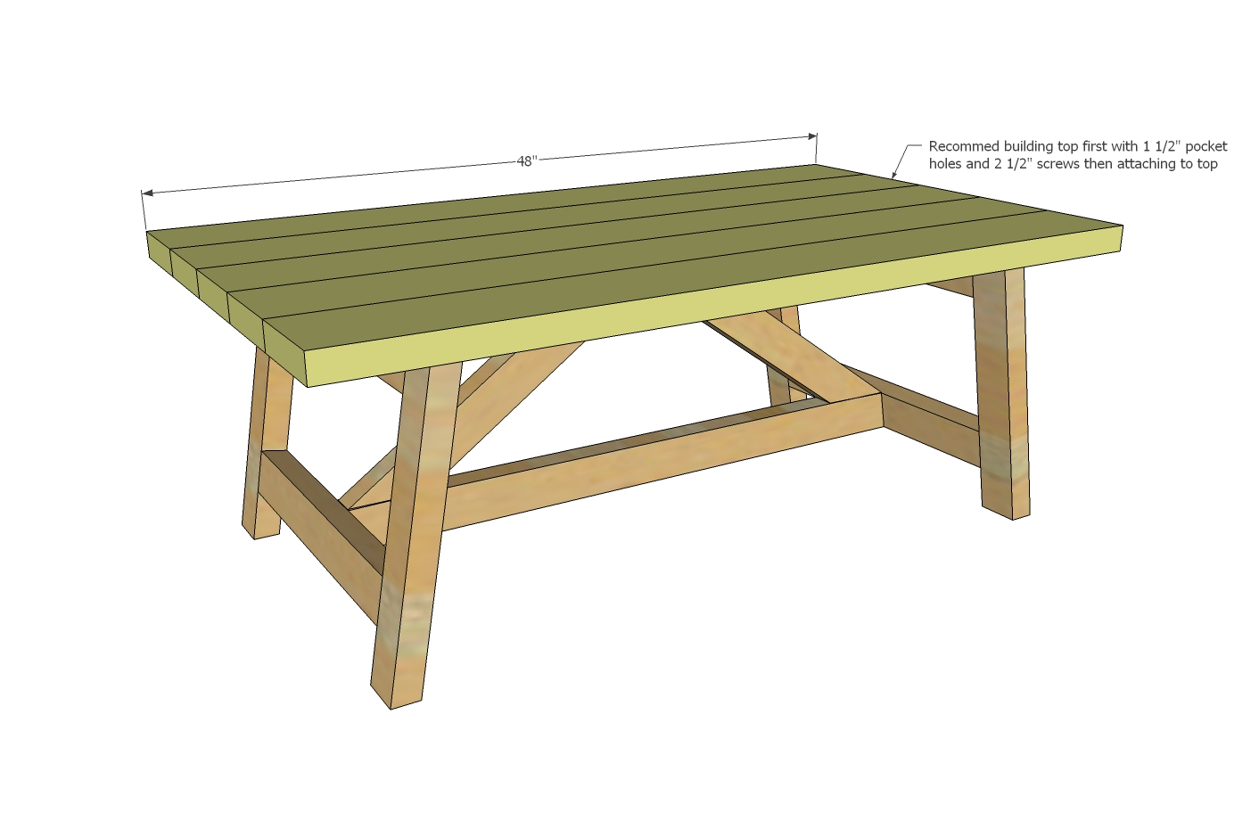 truss coffee table woodworking plans - WoodShop Plans on Coffee Table Plans  id=52187