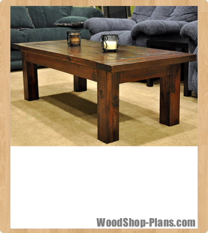 coffee table woodworking plans - WoodShop Plans on Coffee Table Plans  id=94445
