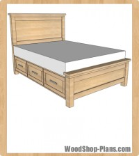 woodworking plans twin bed step up storage woodworking plans twin bed