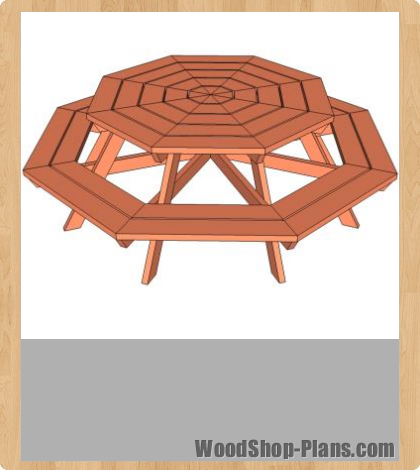 octagon picnic table woodworking 420 x 470 106 kb jpeg courtesy of