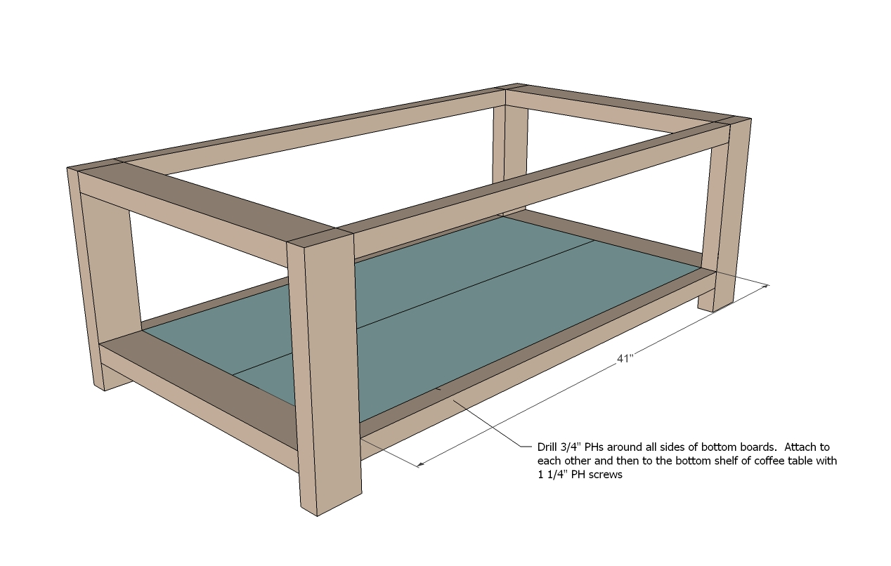 rustic coffee table woodworking plans - WoodShop Plans on Coffee Table Plans  id=81173