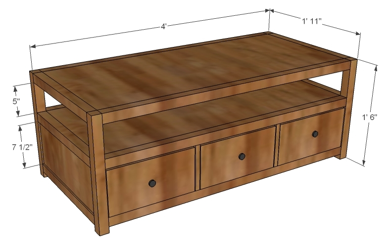 coffee table woodworking plans - WoodShop Plans on Coffee Table Plans  id=53432