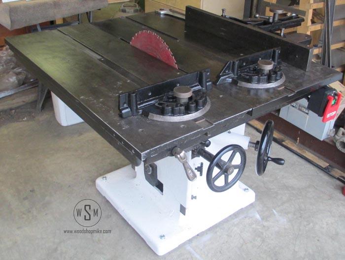 Tannewitz Table Saw Restoration - Woodshop Mike