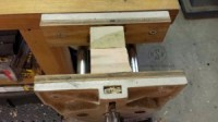 clamping with vise