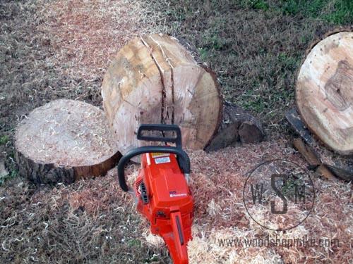 Cross Cutting Log  Stop Short