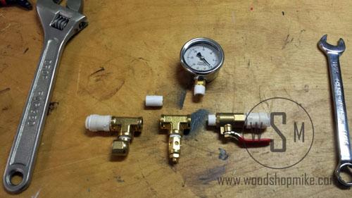 Vacuum Adapter, Manifold Components