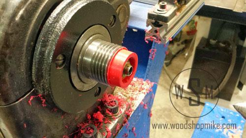 Vacuum Adapter, Reducing OD of Adapter