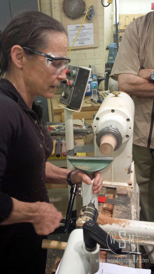 Finial Box, Cindy Drozda Cutting Inlay Recess