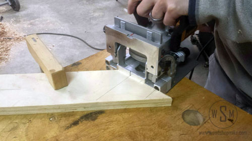 682k, Cutting on 45 Face, plate joiner review