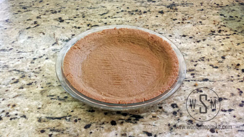Gluten Free Key Lime Pie, Crust Outta Oven