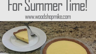 Making Tasty Key Lime Pie For Summer Time!