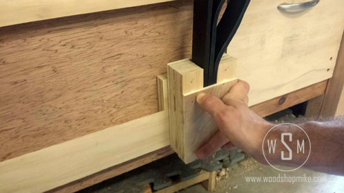 Positioning on Rail, French Cleats