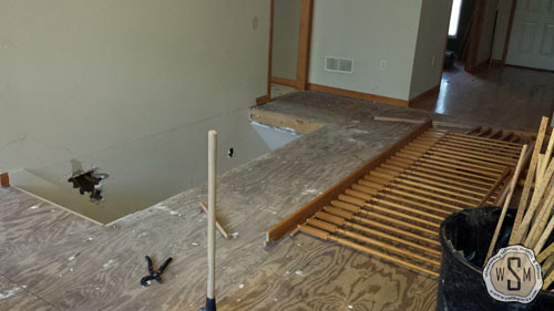 bye-bye-banister-1-our-fix-it-up-house-removing stairs