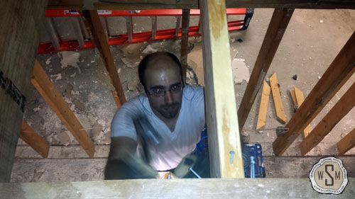 installing-new-joists-our-fix-it-up-house-removing stairs