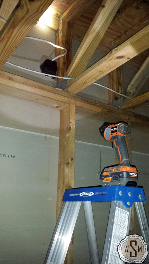 stairwell-light-fixture-to-remove-our-fix-it-up-house-removing stairs