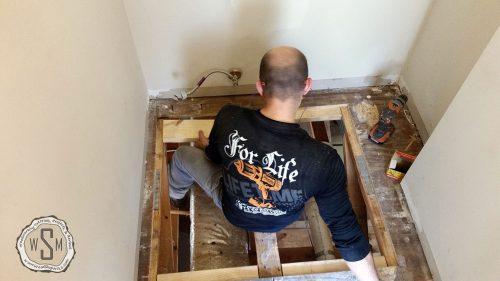 Adding Blocking, Master Bath Remodel, Flooring