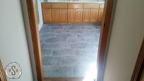 Finished!, Master Bath Remodel, Flooring