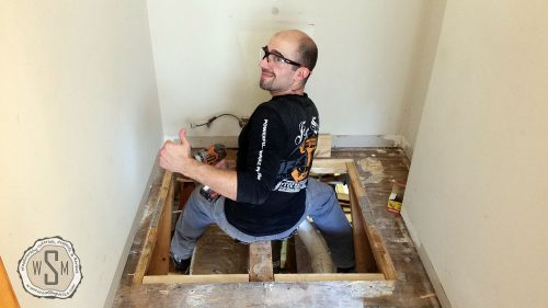 It's All Good, Master Bath Remodel, Flooring