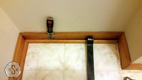 Removing Quarter Round 2, Master Bath Remodel, Flooring