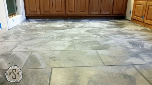 Time For Grout 5, Master Bath Remodel, Flooring