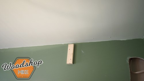 Hanging Top Plate Hack-building upstairs stairwell