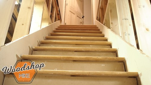 Installing Treads and Risers Complete 2-building stairs