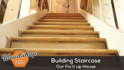 Finishing The Stairwell, Our Fix It Up House