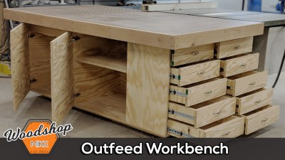 Table Saw Outfeed Table With Plans