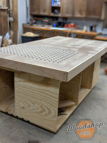 Cool Table Saw Outfeed Table With Plans Woodshop Mike Home Interior And Landscaping Oversignezvosmurscom