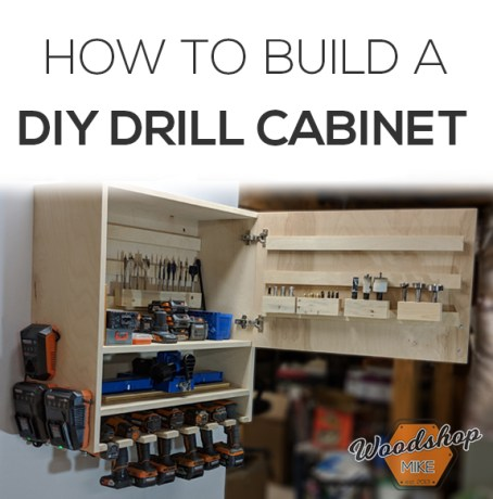 DIY Drill Cabinet Pinterest-How to Make a DIY Drill Charging