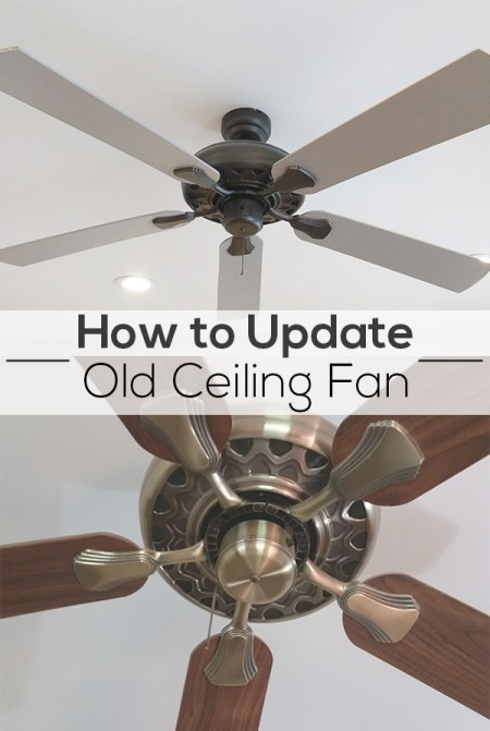 Pinterest Image - How to Update an Old Fan