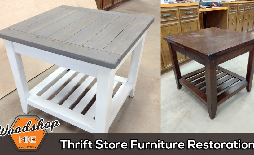 Featured Image - Thrift Store Furniture Restoration