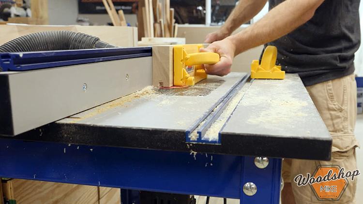 Router Table DIY Farmhouse Platform Bed