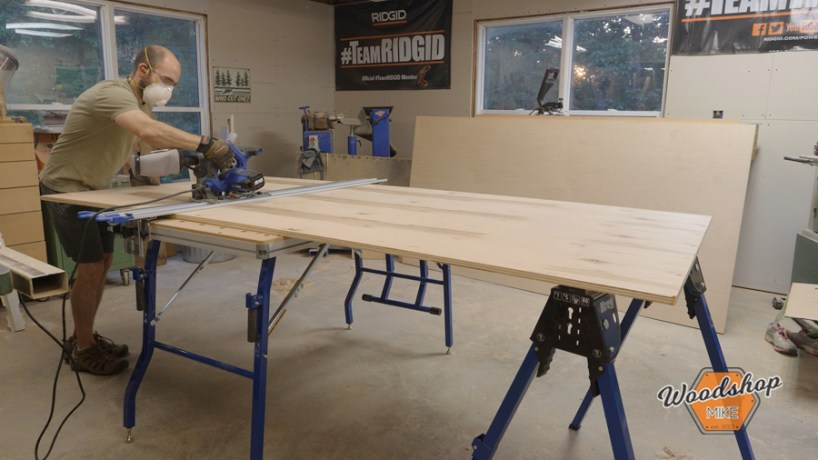 Kreg Tool ACS, Breaking Down Plywood, How to Make a Kitchen Island