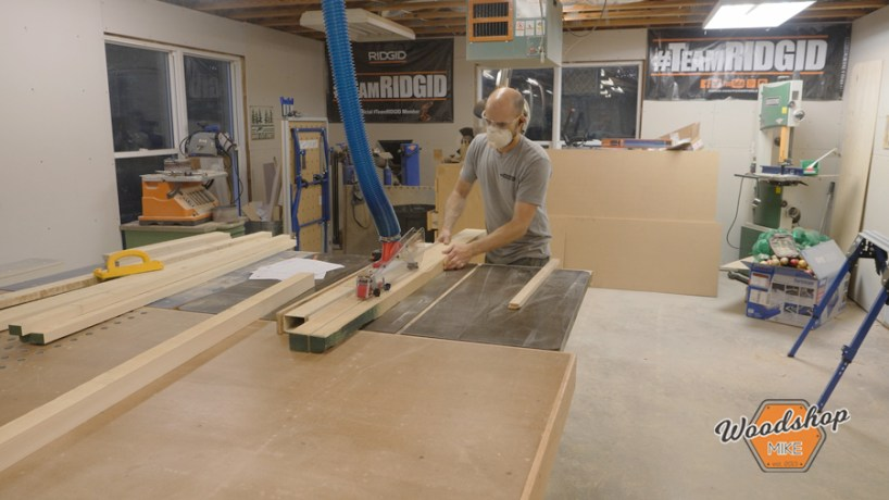 Milling Rough Sawn Poplar on Table Saw