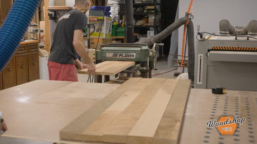 Planing Lumber