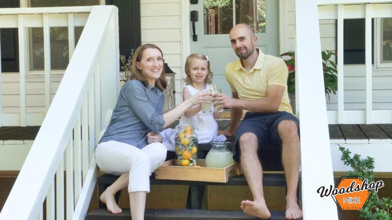 Fresh Lemonade, Front Porch Renovation