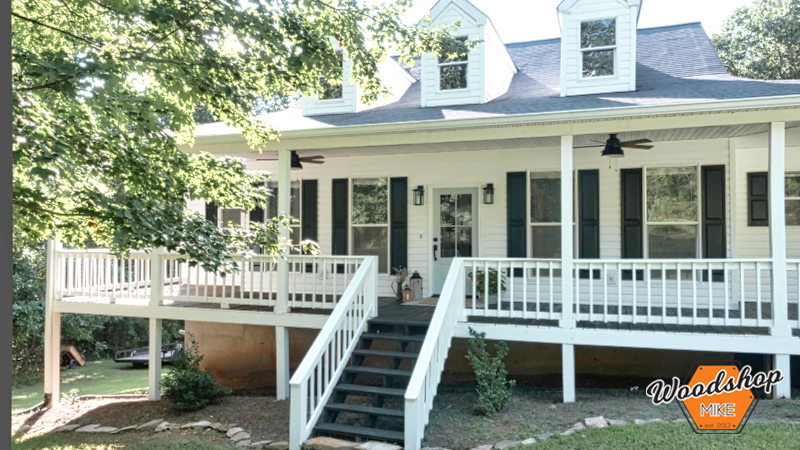 Renovated, Front Porch Renovation