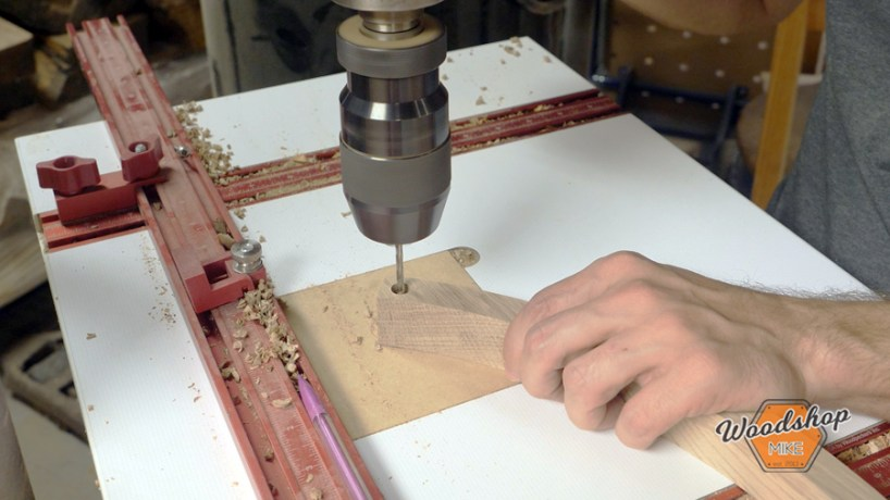 how to make outdoor side table, counterboring apron