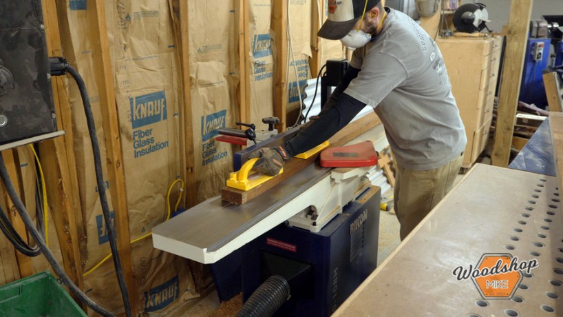 how to use the jointer, make this easy to build rustic bed