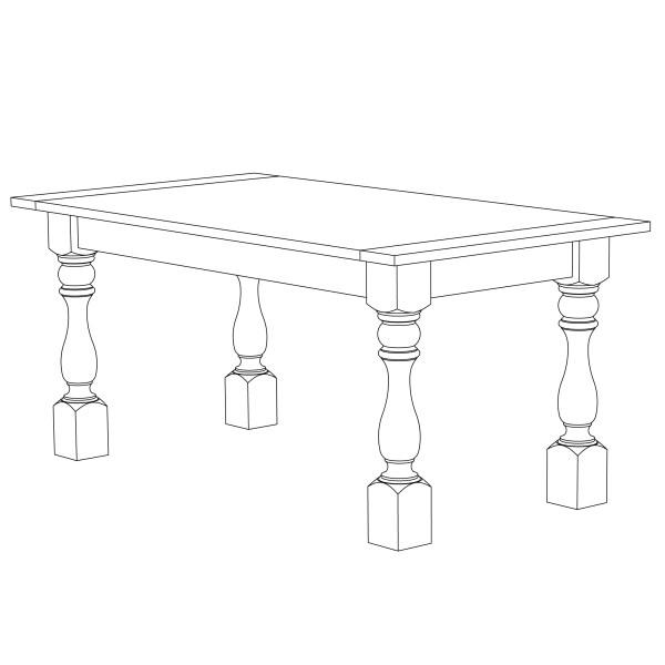 how to build a farmhouse dining table