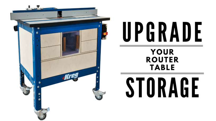 Upgrade your router table storage