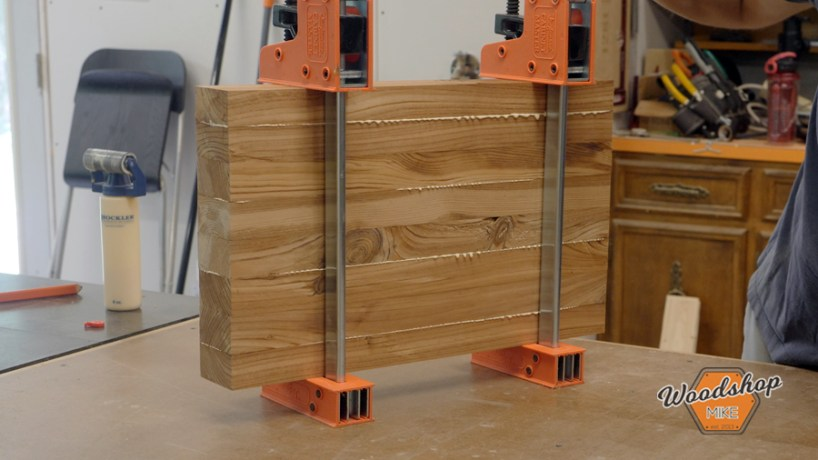 gluing up multiple sets of legs