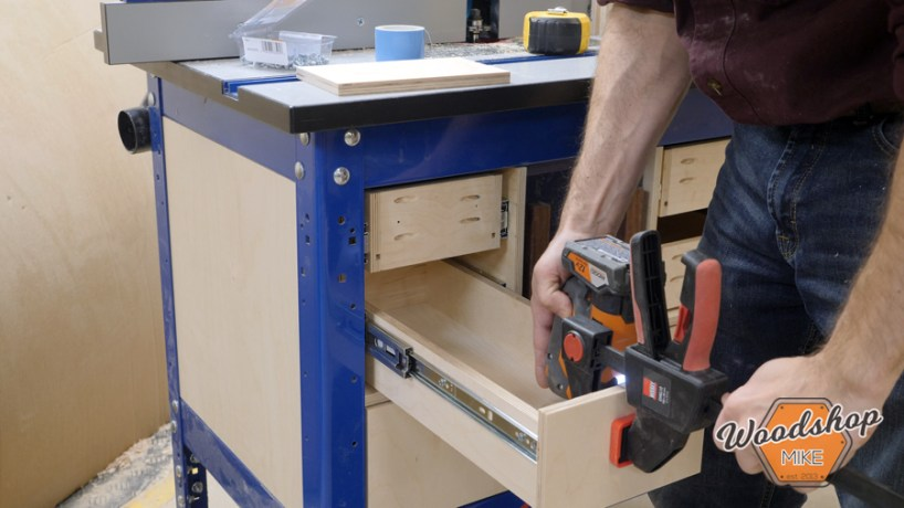 how to attach inset drawer face