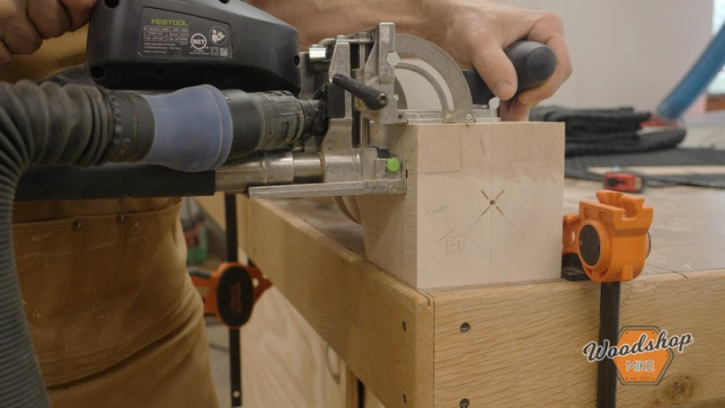 how to cut floating tennon joinery