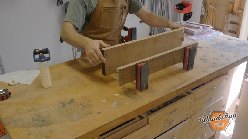 using parallel clamps